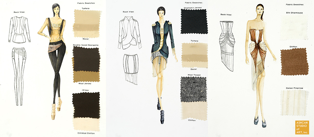 Fashion Institute Of Technology Portfolio Fashion Design Admissions