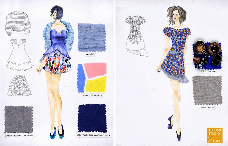 Fashion Institute Of Technology Portfolio PORTFOLIO EXAMPLES