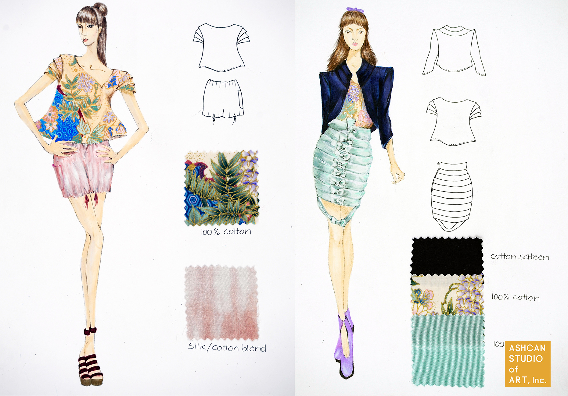 ashcan studio of art ashcan studio student work for fit fashion design admissions by kisa