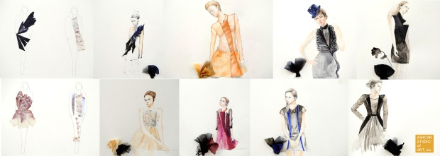 12.Fashion Skeches