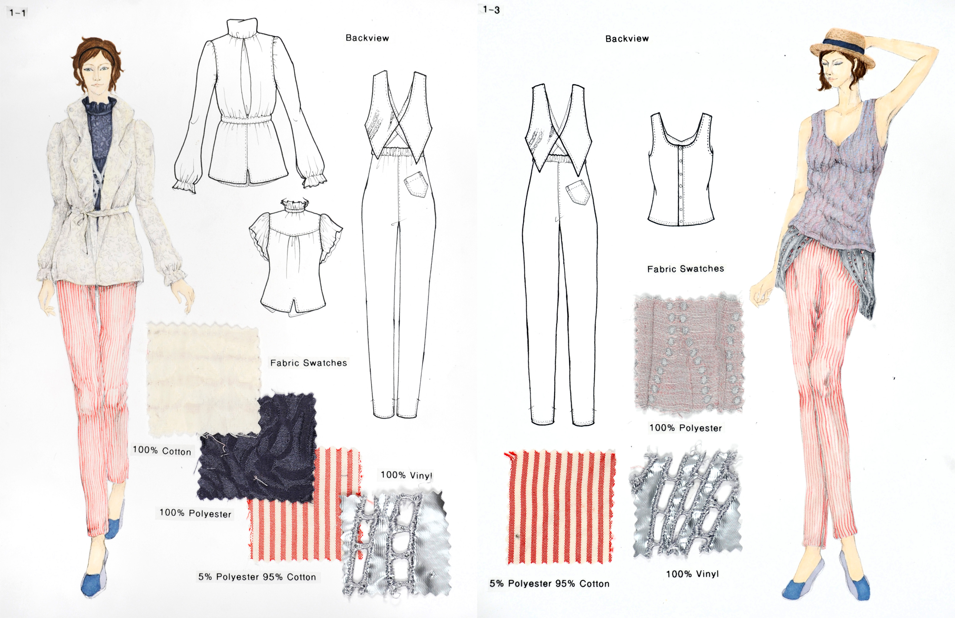 Examples Of Fit Fashion Design Portfolios