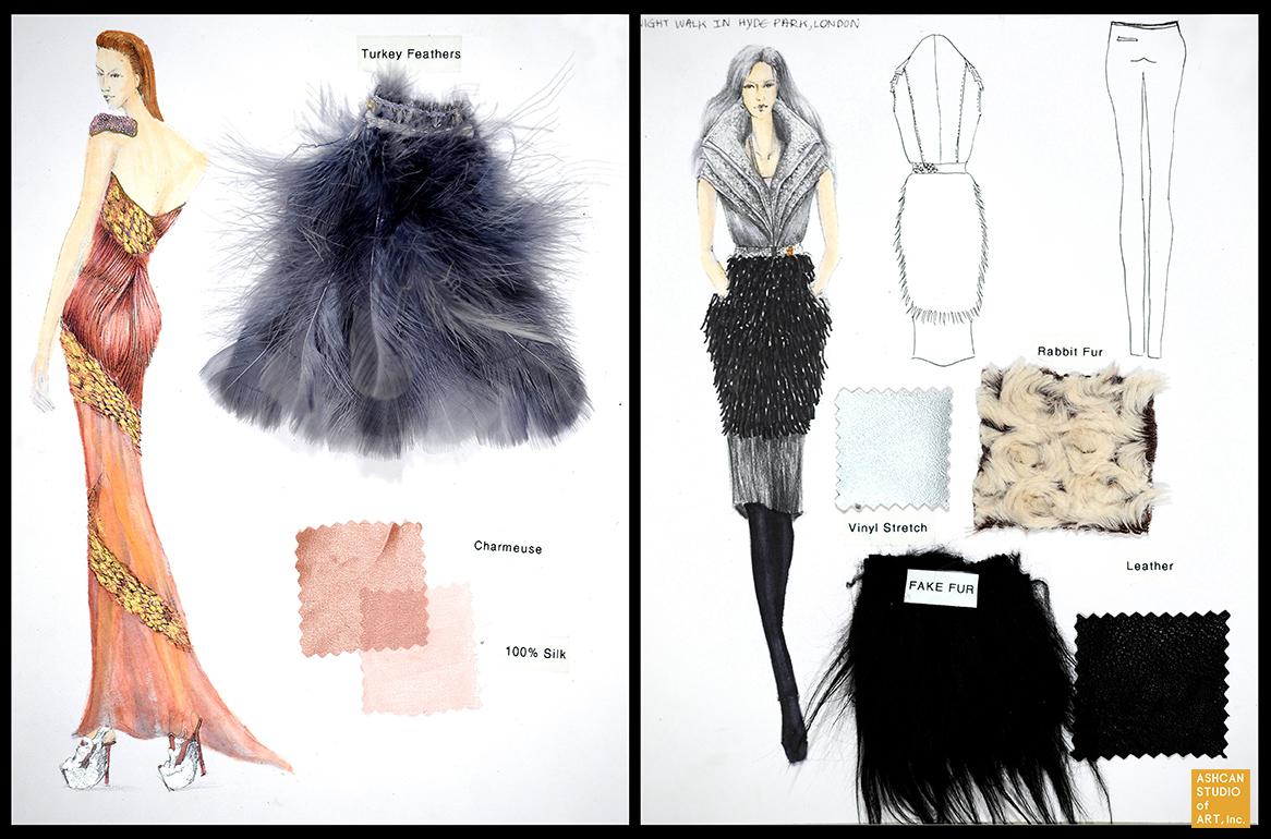 Pre College Summer Program Fashion Illustration Ashcan Studio Of Art