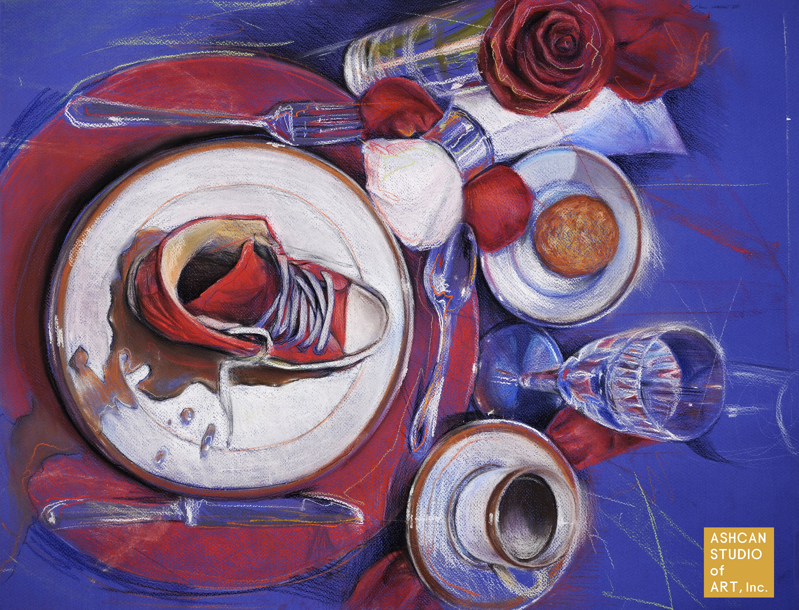 Art Portfolio Examples Ashcan Studio Of Art