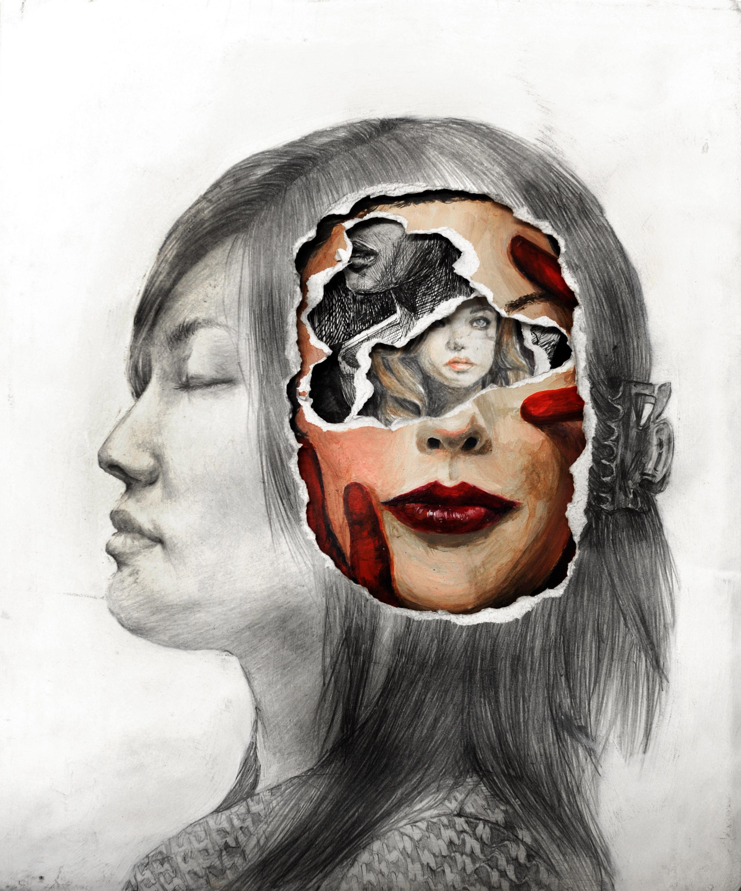 Self Portrait Art Portfolio Examples Ashcan Studio Of Art