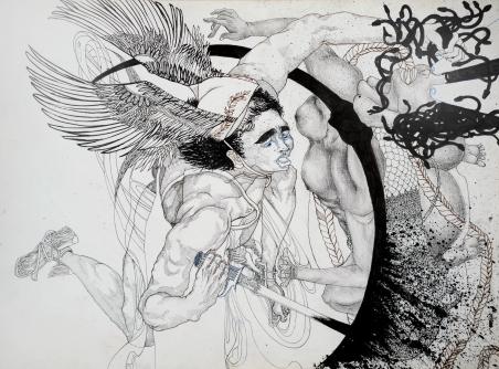 9. Perseus Slaying Medusa