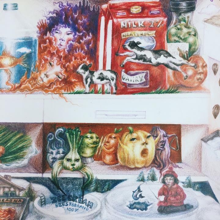 """""""Life of Food"""" on Street ArtNYC"""