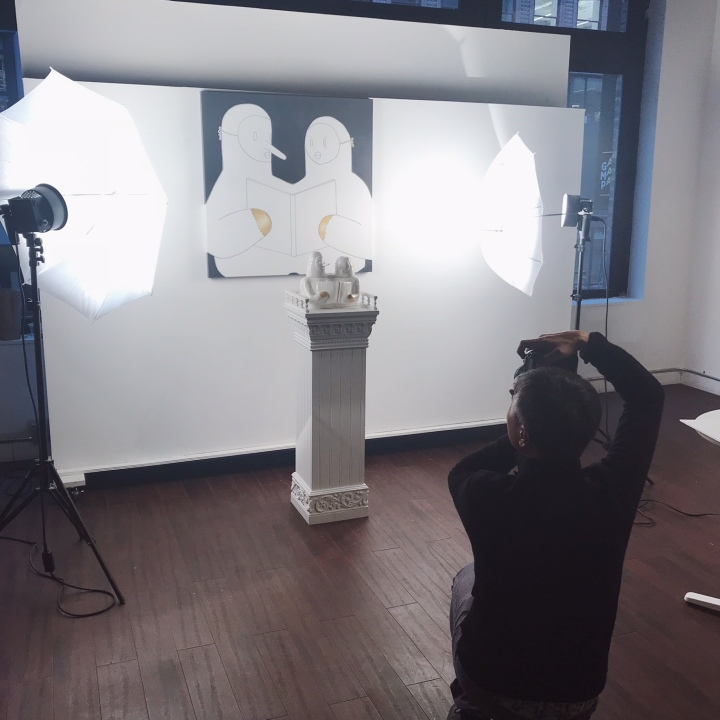 Behind the Scenes- Art Portfolio Photoshoot & Secrets for getting good shots