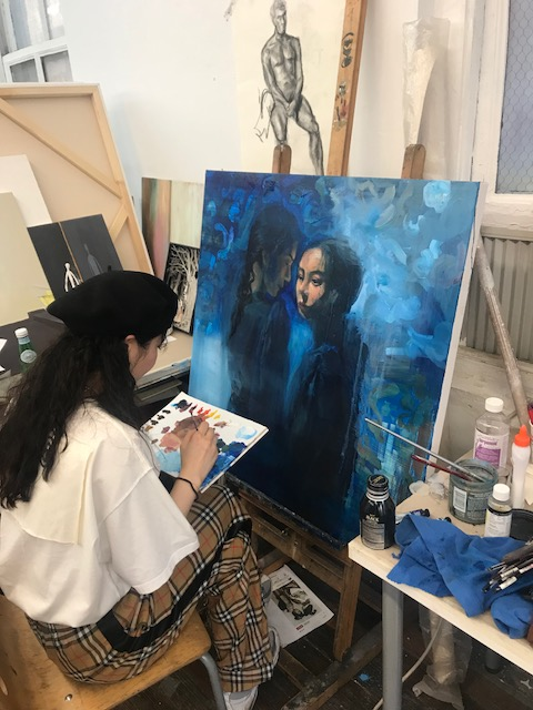 Summer 2018 Pre-College Painting classes have begun!