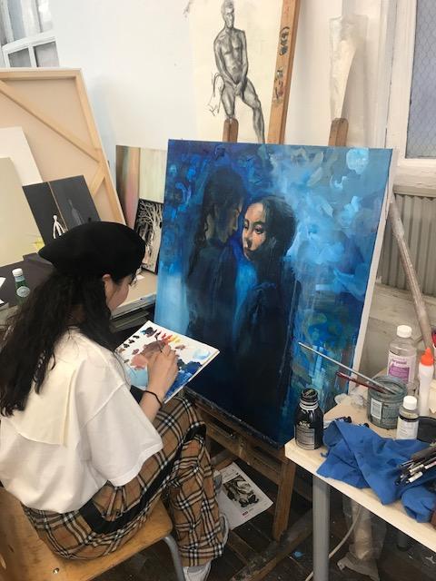 Summer 2018 Pre-College Painting classes havebegun!
