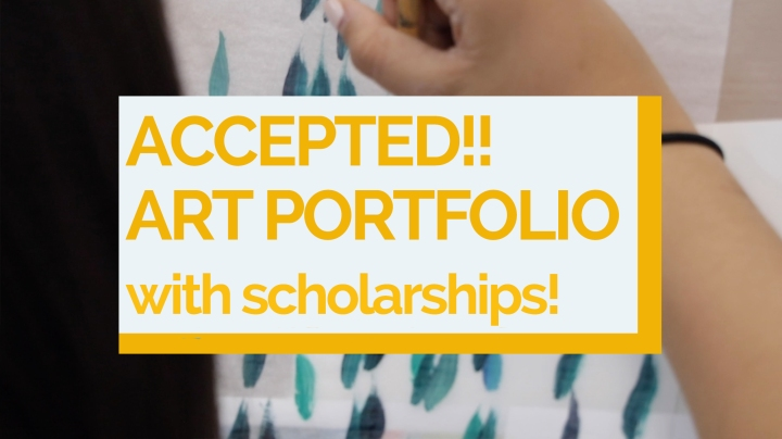 Accepted! Art Portfolio Examples- and Why they're so Good