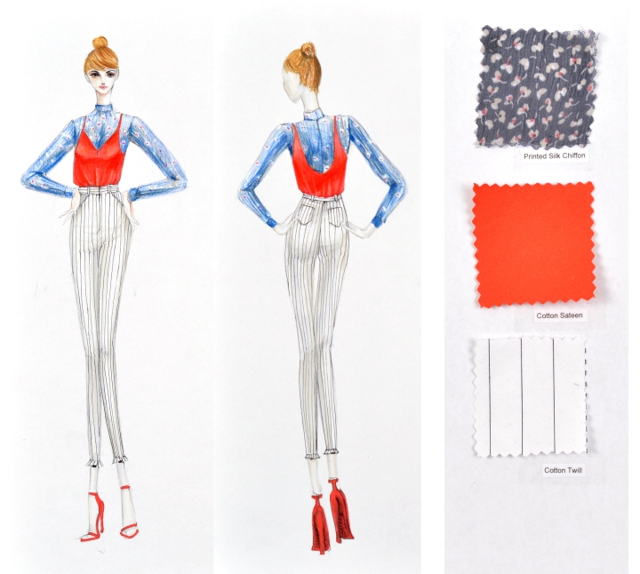 How to make an OUTSTANDING Fashion Design ART PORTFOLIO to apply to a top BFA Program