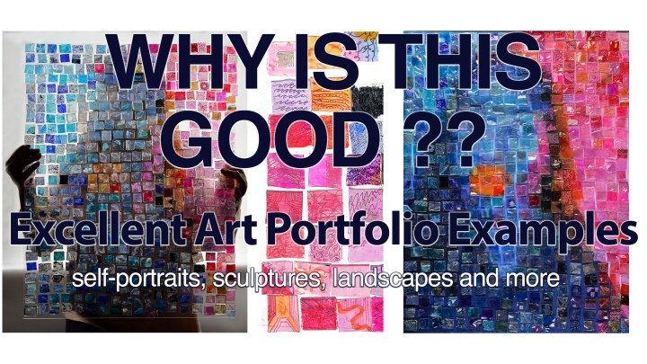 Why is This Good? Accepted Art Portfolio Examples & WHY they're Good
