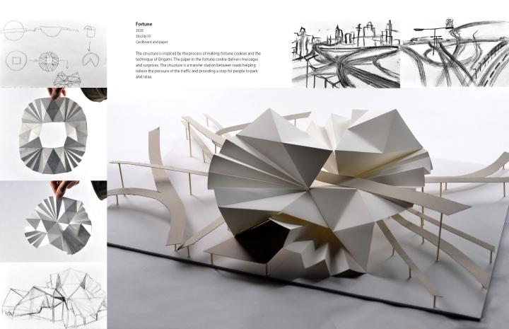 ACCEPTED ARCHITECTURE MFA PORTFOLIO!Architecture & Lighting DesignPrograms